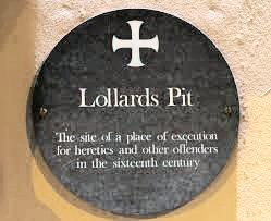 Lollards Pit (Plaque)
