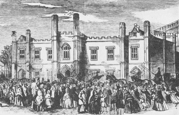 Norwich Court (Outside) 1849