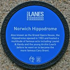 Norwich Plaque (Blue)2