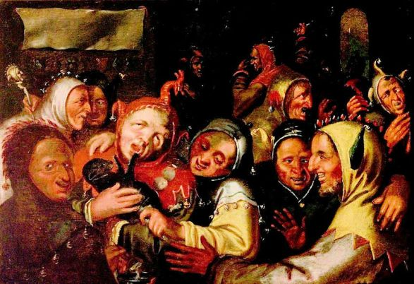 Tudor Christmas (Feast of Fools_ArtUK)