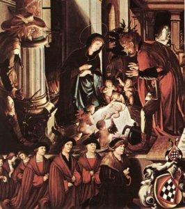 Tudor Christmas holbein christ 1520