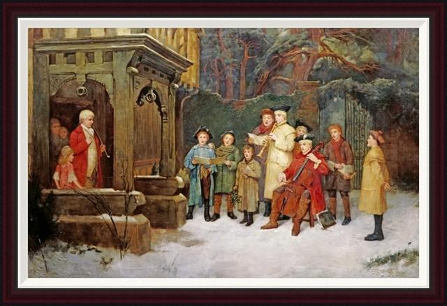 Victorian Carol Singers 1 Norfolk Tales Myths