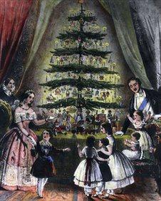 Victorian Christmas Tree 2