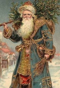 Victorian Father Christmas 1