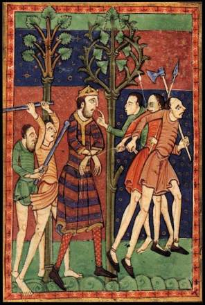East Anglia (St Edmund's Death)
