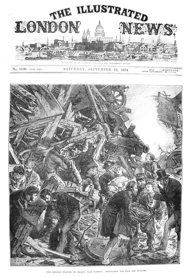 The Thorpe Railway Disaster 1874