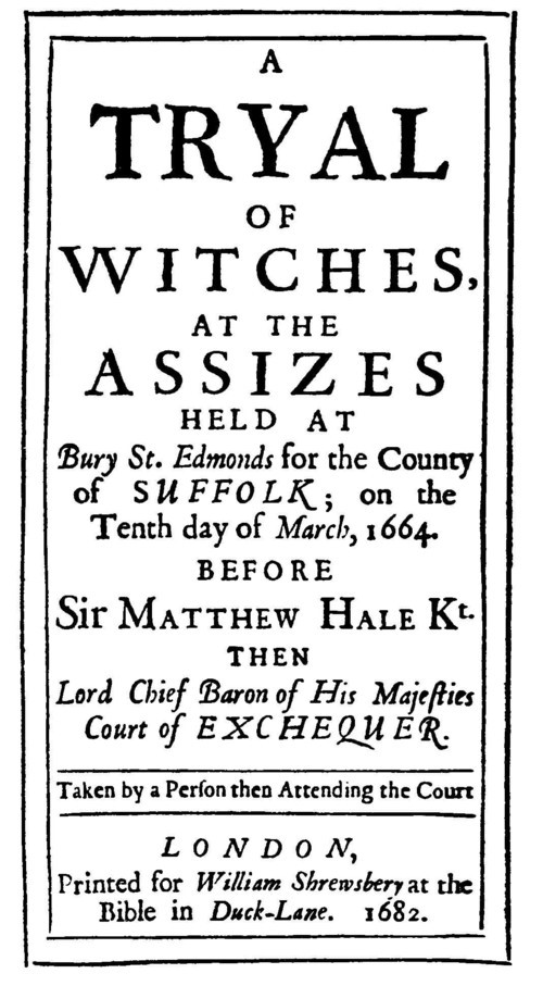 The Lowestoft Witches (Trial Report)