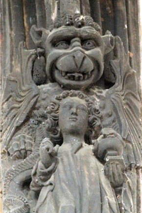 St Clements (Carved Demon)