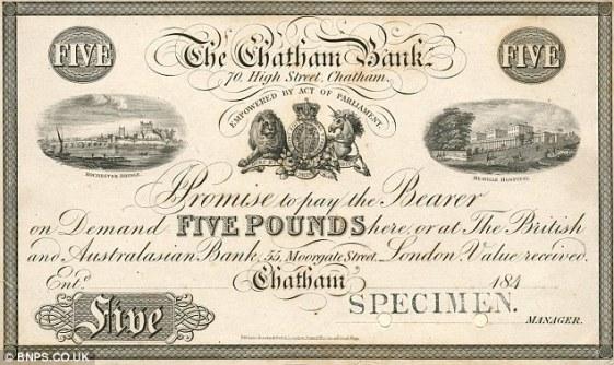 Taverham (Banknote 1840)