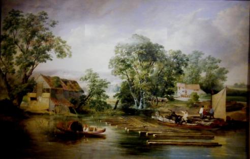 Taverham (Paper MIll - Painting)