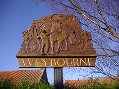 Weybourne Village Sign