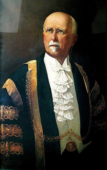 Crick, Thomas Montague; Sir George Chamberlin (1846-1928), Mayor of Norwich (1891), Lord Mayor (1916 & 1918); Norwich Civic Portrait Collection; http://www.artuk.org/artworks/sir-george-chamberlin-18461928-mayor-of-norwich-1891-lord-mayor-1916-1918-1543
