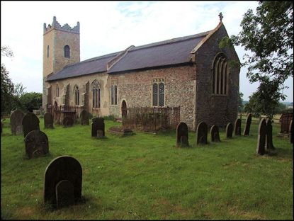 Haunted Churches (St Edmund Thurne)
