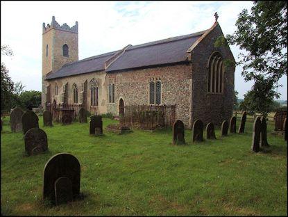 Haunted Churches (St Edmund Thurne)