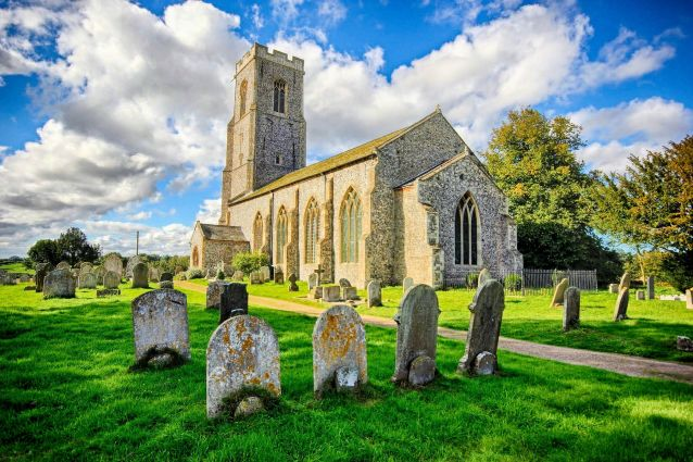 Haunted Churches (St Peter & St Paul Honing)