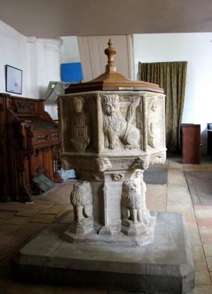 Susannah Holmes (Surlingham Church Font)1