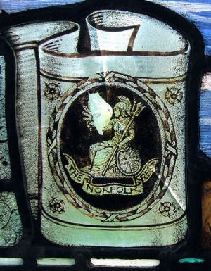 5th Norfolks (Memorial Window)