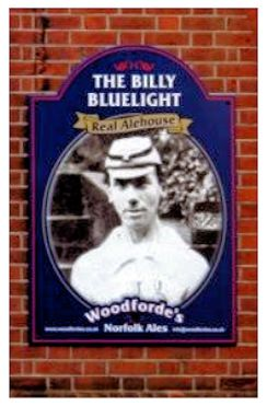 Billy Bluelight (Pub Poster)