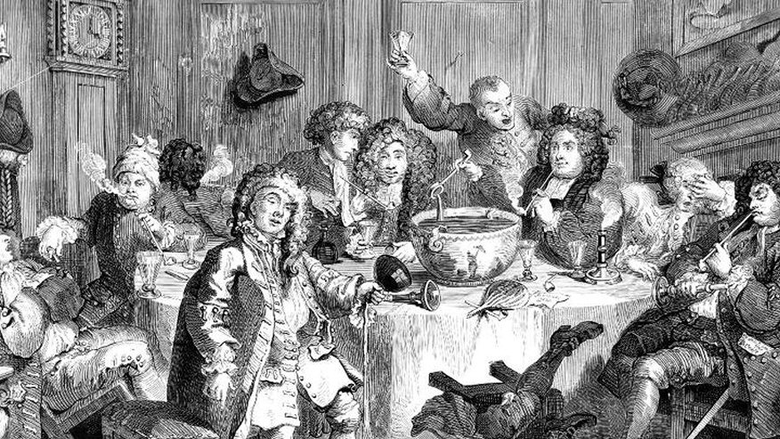 The 18th-Century Craze for Gin