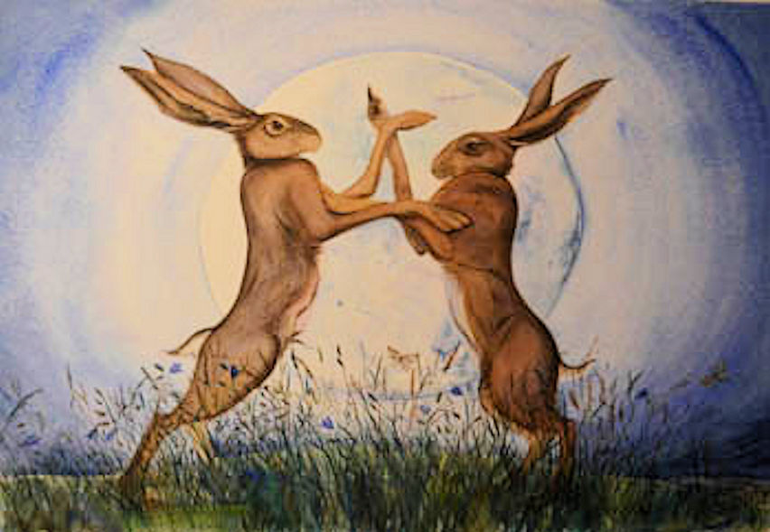 March Hares & Witches.