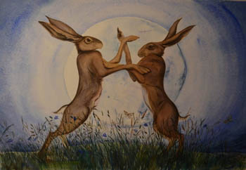 March Hares &Witches