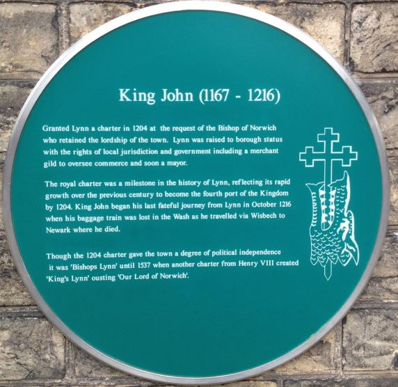 King John (Plaque) 1