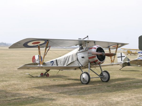 Norfolk Ace ( Fullard's Nieuport - Replica)