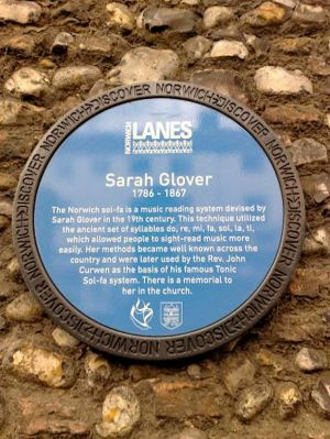 Sarah Ann Glover (Plaque)2