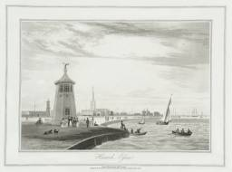 Harwich, Essex null by William Daniell 1769-1837