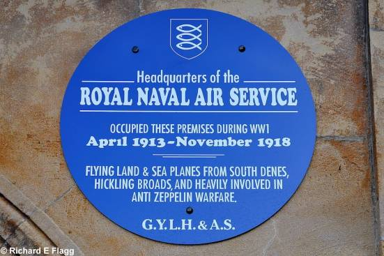 Yarmouth (RNAS Plaque)