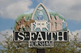Drover (Horsham Sign)