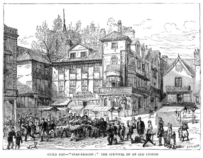 Norwich (Market Sketch)