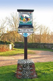 Stiffkey (Village-Sign)