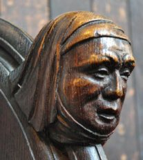 Margery Kempe (Carving) 1