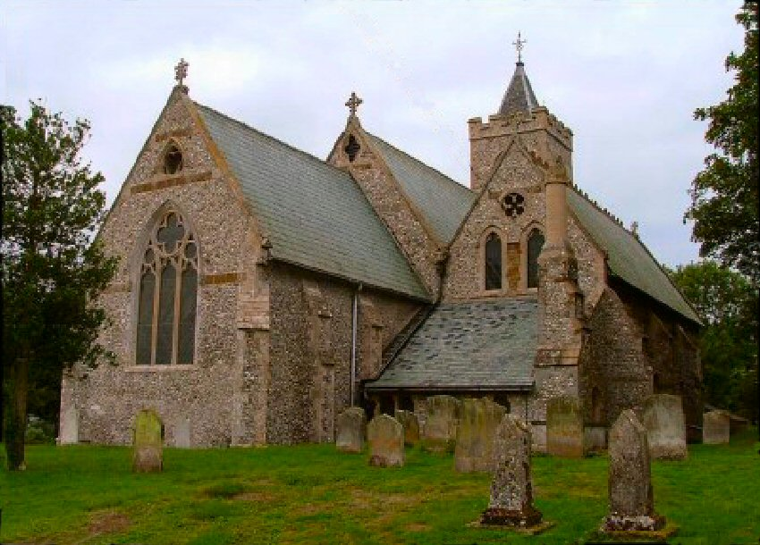 St Andrews, Ringstead – I am the Door!