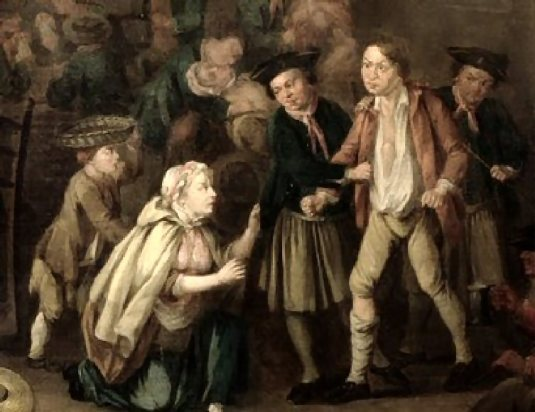 Sharman ( The Press Gang, John Collet, c_1760's, from The Foundling Museum_detai1)