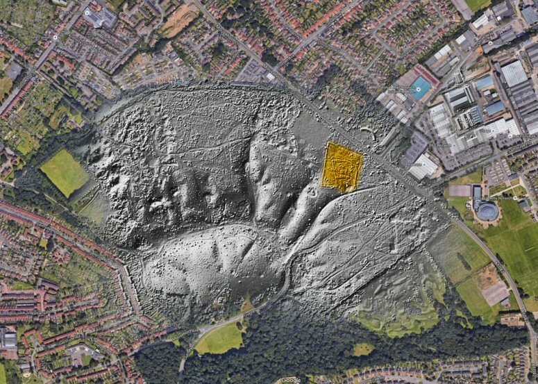 St William (Lidar-Mousehold-overlay)1