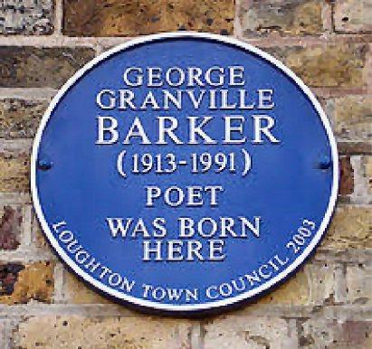 Geo Barker (Plaque)