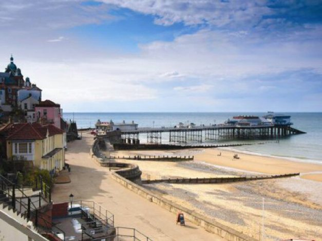 Literary Norfolk (Cromer Pier)