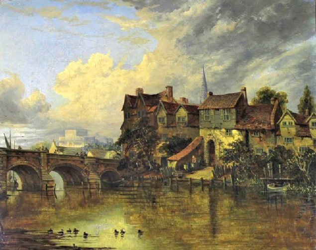 Pulls Ferry (Bishops Bridge by Joseph Paul)