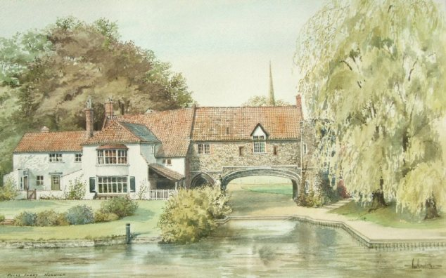 Pulls Ferry (Watercolour)