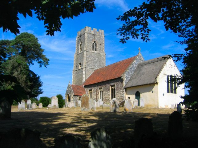 All Saints Church, Horsford 032