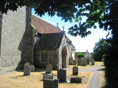 All Saints Church, Horsford 041
