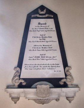 All Saints Church, Horsford (Day Memorial)1