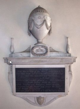 All Saints Church, Horsford (Day Memorial)2
