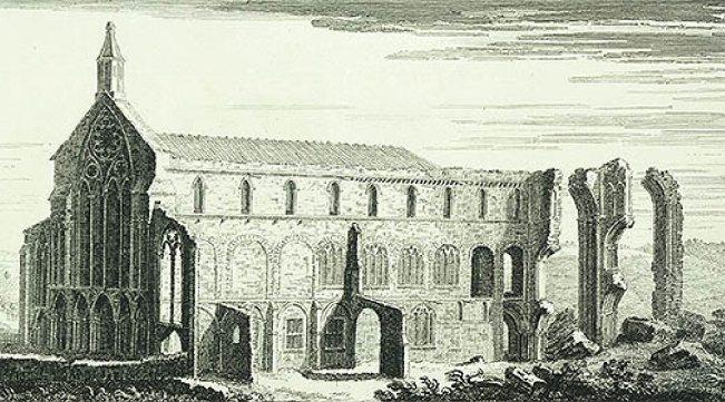 Binham (Engraving)1