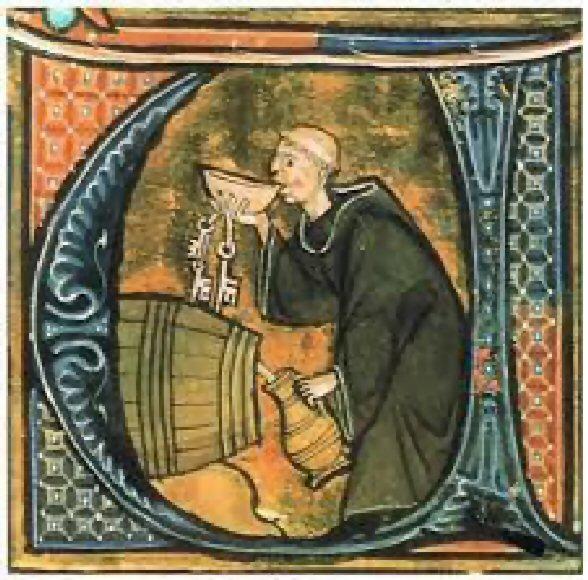 Binham (Monk Drinking)1