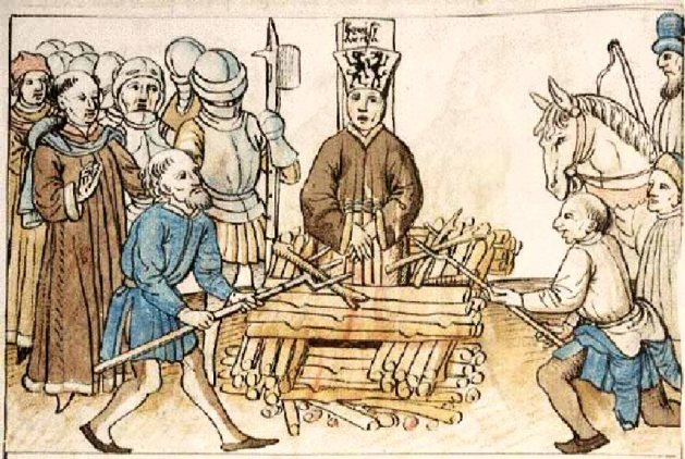 Lollards Pit (Rise of Lollardy (Council of Constance, 1414-18, condemned and burned John Wycliffe's follower)1