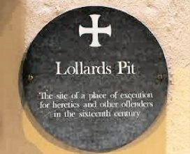Lollards Pit (Thos Bilney-plaque)1