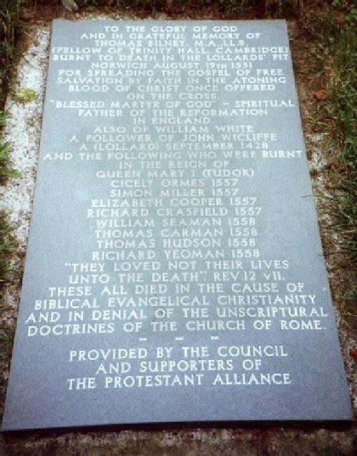 Lollards Pit (Thos Bilney-plaque)3